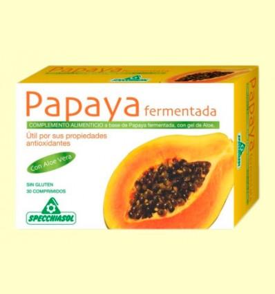 Papaya Fermentada - Specchiasol - 30 comprimidos