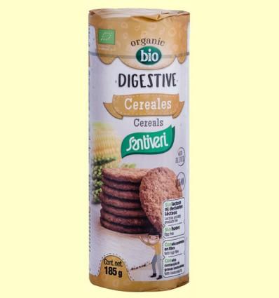 Galletas Digestive Cereales Bio - Santiveri -185 gramos