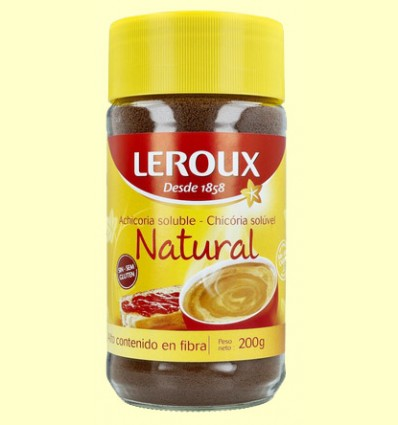 Achicoria Soluble - Leroux - 200 gramos