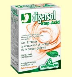 Digersol Stop Acid - Specchiasol - 20 comprimidos