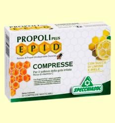 Epid Propoli Plus Miel y Limón - Specchiasol - 20 comprimidos