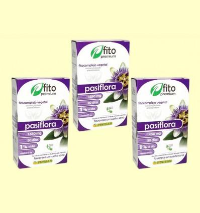 Pasiflora - Fito Premium - Pinisan - Pack 3 x 30 cápsulas
