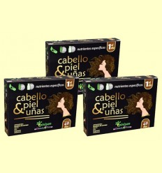 Cabello Piel y Uñas - Pinisan - Pack 3 x 40 cápsulas