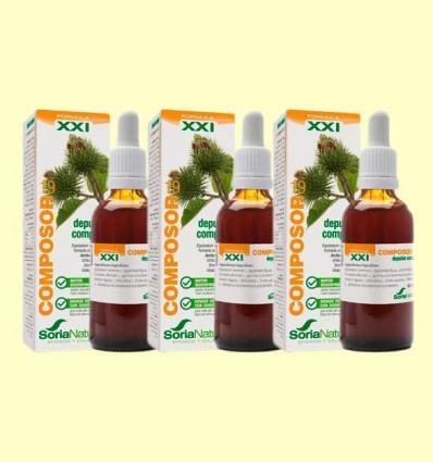 Composor 19 Depulan Complex S XXI - Soria Natural - Pack 3 x 50 ml