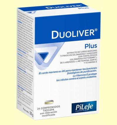 Duoliver Plus - Hepático - PiLeJe - 24 comprimidos