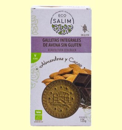 Galletas de Avena con Almendra y Cacao Bio - Eco-Salim - 135 gramos