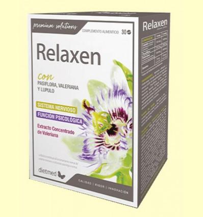 Relaxen con Valeriana y Pasiflora - Dietmed - 30 comprimidos