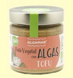 Paté Vegetal con Algas y Tofu - Algamar - 180 gramos