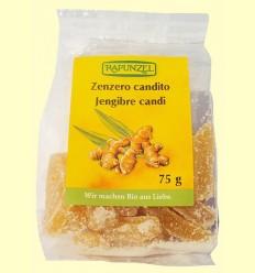 Jengibre Candi Rapunzel - Biocop - 75 gramos