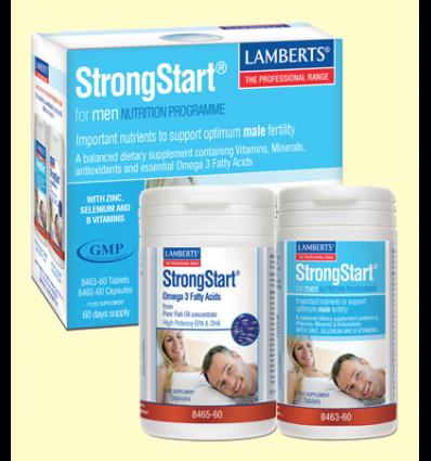StrongStart® para Hombres - Vitalidad Masculina - Lamberts - 60 caps + 60 comp