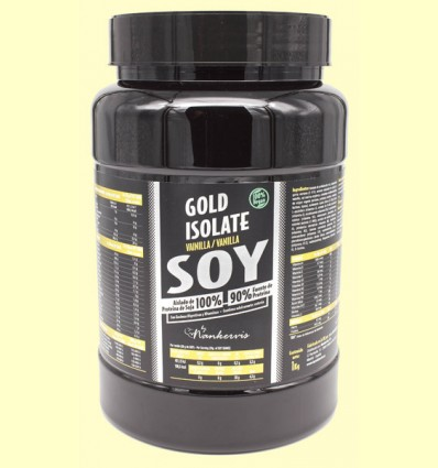 Gold Isolate Soy Vainilla - Proteínas - By Nankervis - 1 kg