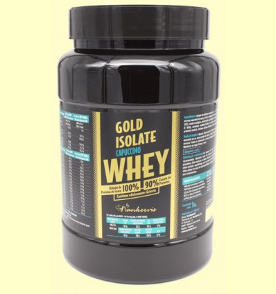 Gold Isolate Whey Capuccino - Proteínas - By Nankervis - 1 kg
