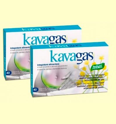 Kavagás - Santiveri - pack 2 x 40 cápsulas