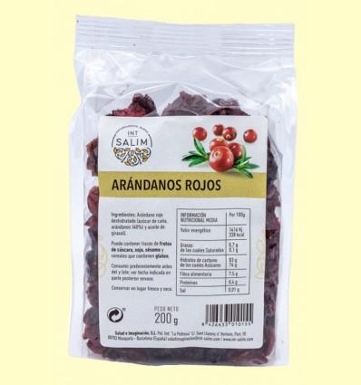 Arándano Rojo Mitades - Int Salim - 200 gramos