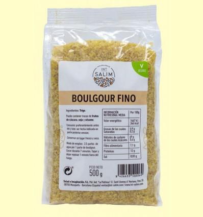 Boulgour - Bulgur normal fino - Int-Salim - 500 gramos