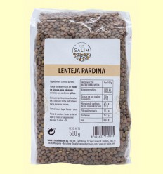 Lenteja Pardina - Int-Salim - 500 gramos