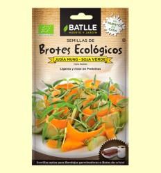 Semillas de Soja Verde Brotes Eco - Batlle - 36 gramos