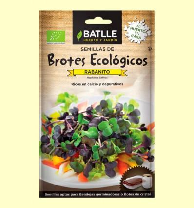 Semillas de Rabanito Brotes Eco - Batlle - 18 gramos