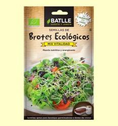 Semillas Mix Vitalidad Brotes Eco - Batlle - 1,5 gramos