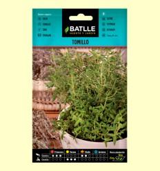 Semillas de Tomillo o Farigola - Thymus Vulgaris - Batlle - 1 gramo