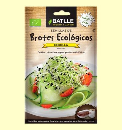 Semillas de Cebolla Brotes Eco - Batlle - 6 gramos