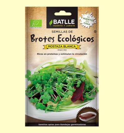 Semillas de Mostaza Blanca Brotes Eco - Batlle - 20 gramos