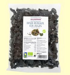 Pasta Integral con Algas Flores de Mar Bio - Algamar - 250 gramos