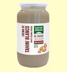 Crema de Tahin Blanco Bio - NaturGreen - 800 gramos