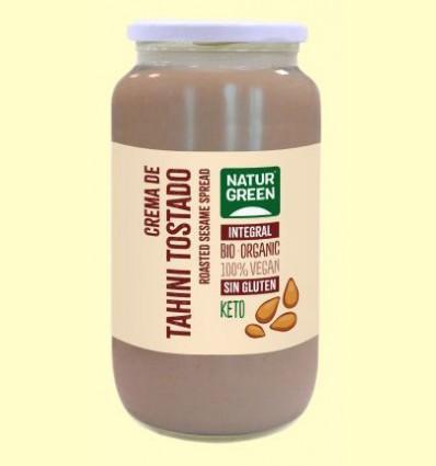 Crema de Tahin Tostado Bio - NaturGreen - 800 gramos