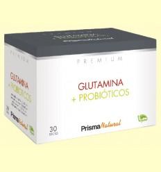 Glutamina y Probióticos - Prisma Natural - 30 sticks