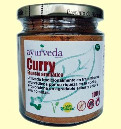Curry Bio - Ayurveda - 100 gramos