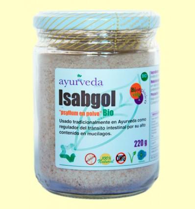 Isabgol - Psyllium en Polvo Bio - Ayurveda - 220 gramos