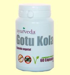 Gotu Kola - Ayurveda - 60 cápsulas