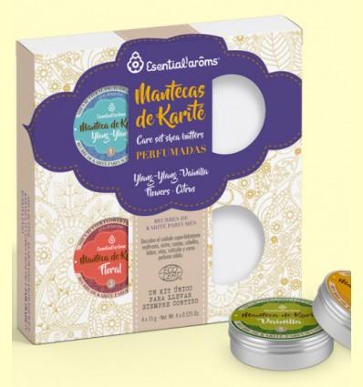 Kit 4 Mantecas de Karité Perfumadas Bio - Esential Aroms - 4 unidades