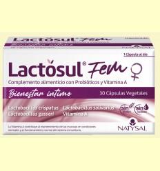 Lactosul Fem - Natysal - 30 cápsulas