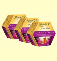 Royal-Vit Mega Total 2000 mg - Dietisa - pack 3 x 20 ampollas
