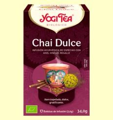 Chai Dulce Bio - Yogi Tea - 17 infusiones