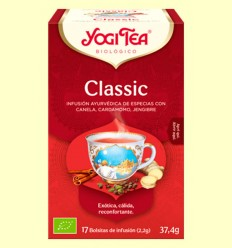 Classic Bio - Yogi Tea - 17 infusiones