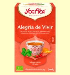 Alegría de Vivir Bio - Yogi Tea - 17 infusiones