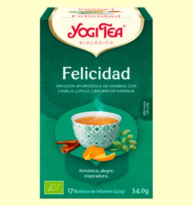 Felicidad Bio - Yogi Tea - 17 infusiones