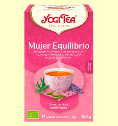 Mujer Equilibrio Bio - Yogi Tea - 17 infusiones