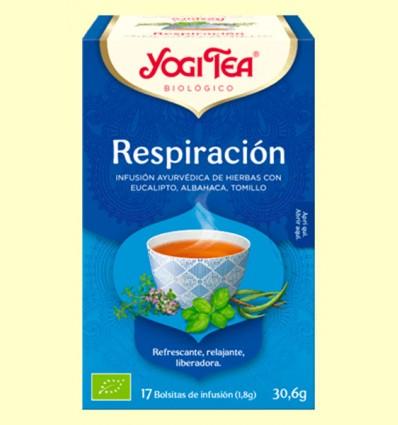 Respiración Bio - Yogi Tea - 17 infusiones