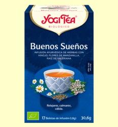Buenos Sueños Bio - Yogi Tea - 17 infusiones