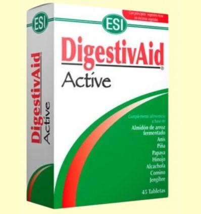 DigestivAid Active - Favorece los procesos digestivos - Laboratorios ESI - 45 tabletas