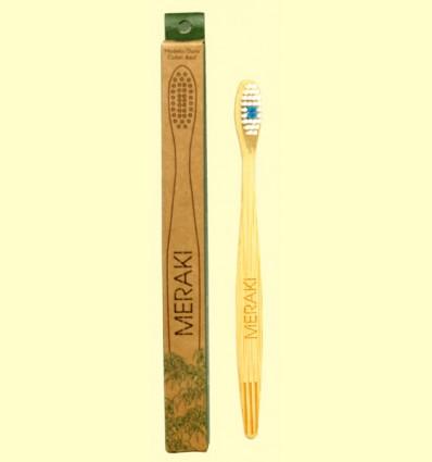 Cepillo de Dientes de Bambú Duro - Meraki - 1 unidad