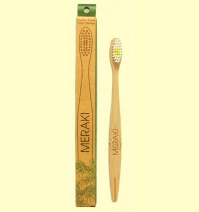 Cepillo de Dientes de Bambú Suave - Meraki - 1 unidad