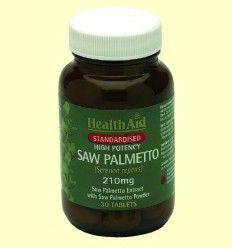 Sabal - Baya Extracto estandarizado + polvo - Health Aid - 30 comprimidos
