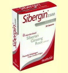 Sibergin 2500 - Health Aid - 30 cápsulas