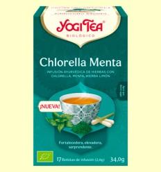 Chlorella Menta Bio - Yogi Tea - 17 infusiones