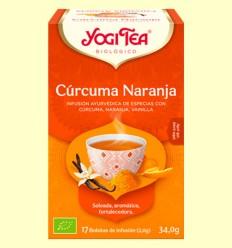 Cúrcuma Naranja Bio - Yogi Tea - 17 infusiones